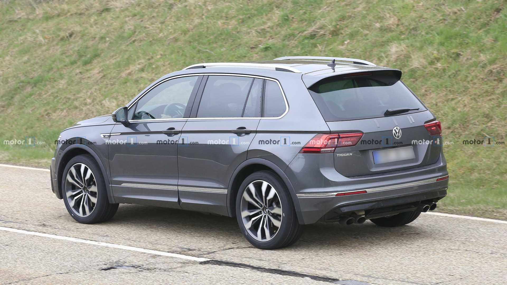 Vw Tiguan Facelift And Tiguan R Concept Due In 2020 intended for 2021 Vw Tiguan Highline Specs, Exterior Concept, Release Date